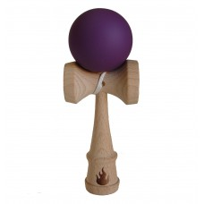 Purple Rubberized Kendama