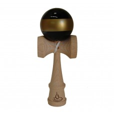 Black/Gold Stripe Kendama